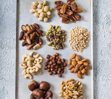 Nuts for Life - Mixed nuts on tray