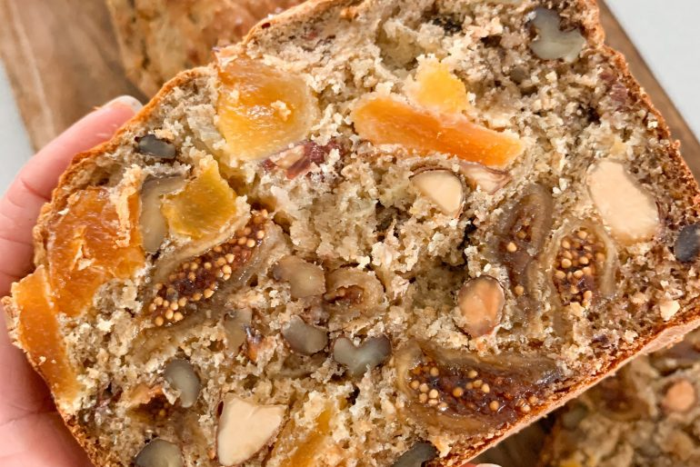 Nuts for Life - Fruit and nut bread recipe
