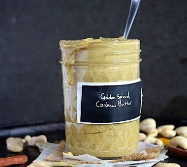 Nuts for Life - Golden spiced cashew butter
