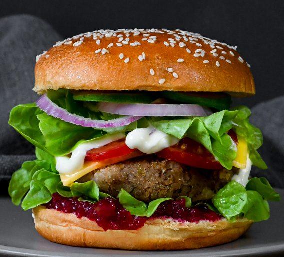 Nuts for Life - Plant-based chestnut burger