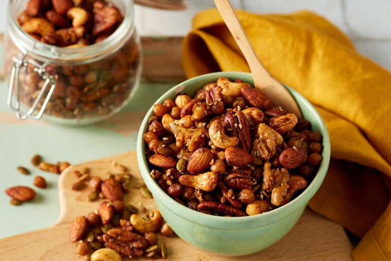 Nuts for Life - Roasted spicy chickpea nuts